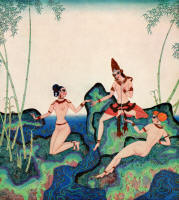 Edmund Dulac's 'The Pearl of the Bamboo' in the 1920 Edition of ''The Kingdom of the Pearl''
