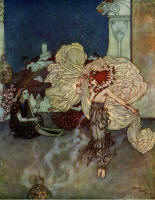 Edmund Dulac's ''Salome, the Daughter of Herodias''