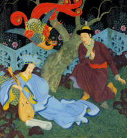 Edmund Dulac's ''The Bird Feng''